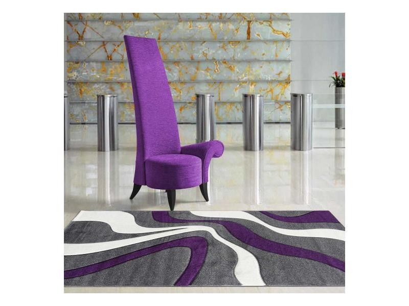 Tapis Pour Couloir Nodage Violet 60 X 110 Cm Tapis De Salon Moderne Design  Par Dezenco