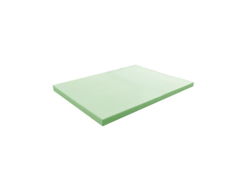 Matelas pour tous | plaque de mousse 35 kg/m³ ferme 100x120 cm | epaisseur 3 cm 3DE.PE.35F.3.1012