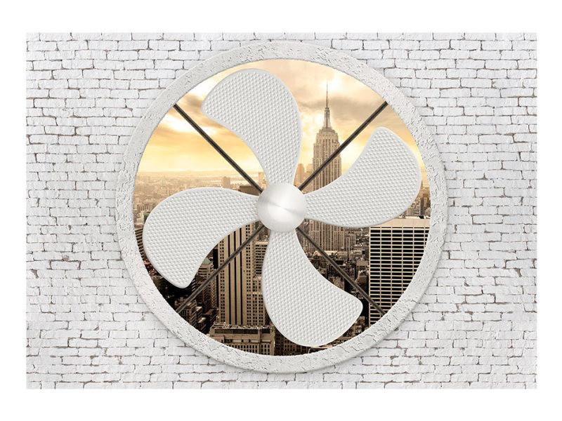 Papier peint - climatic new york 350x245