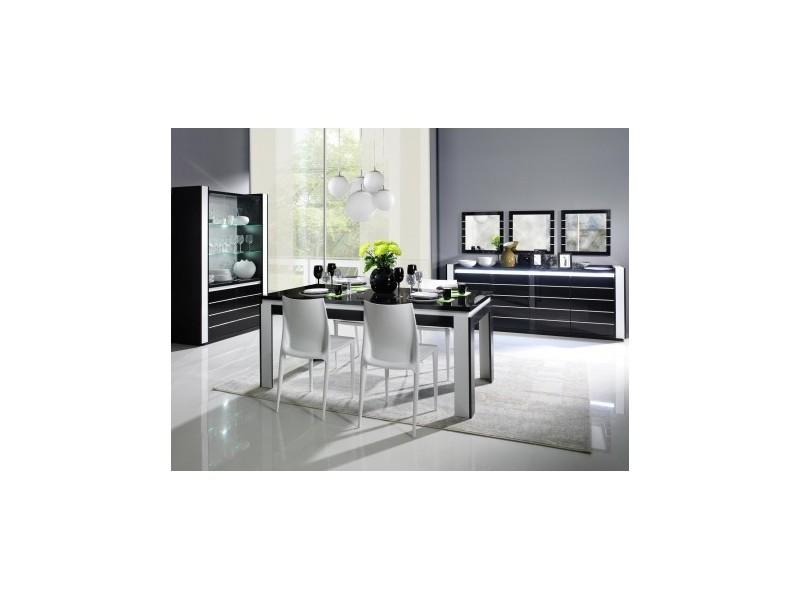 Table 160 cm + 4 chaises lina. Table pour salle à manger ...