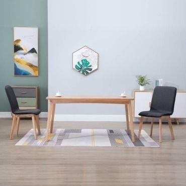 Icaverne chaises de cuisine categorie 2 pcs chaises de salle