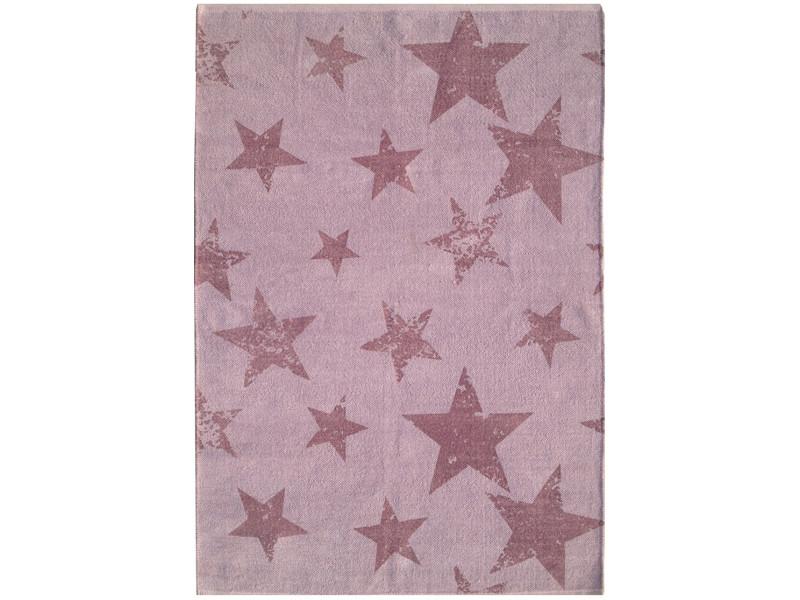 Vintage star violet 120 x 160 cm tapis de salon moderne design par ...