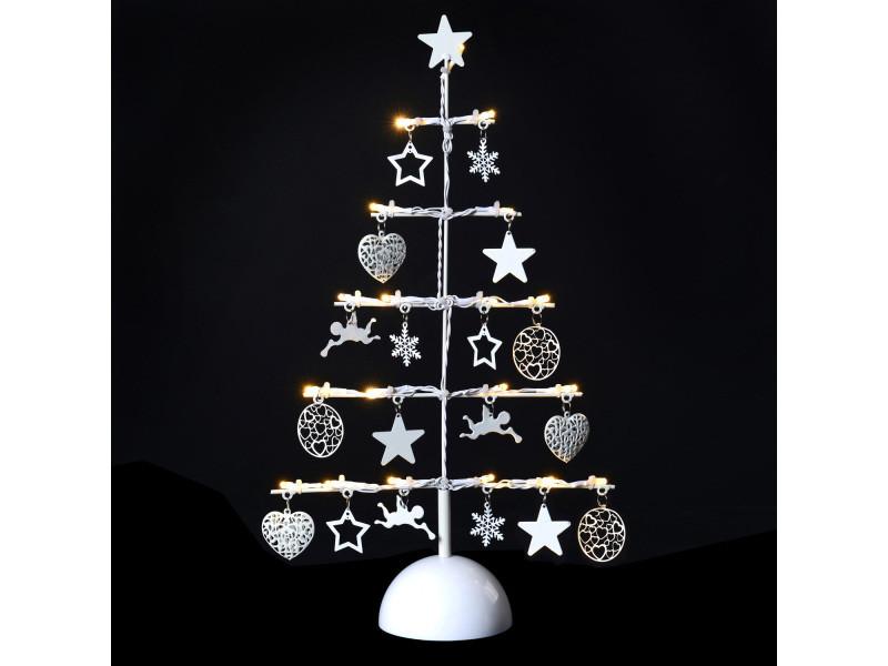 Décoration De Noël Lumineuse Sapin Métal Vente De Autre