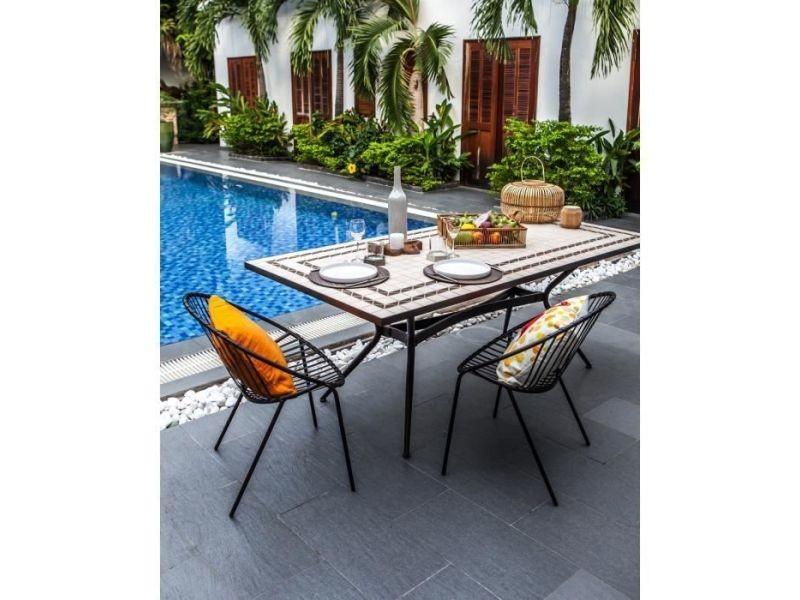 Table de jardin vendue seule meuble de jardin - table de ...