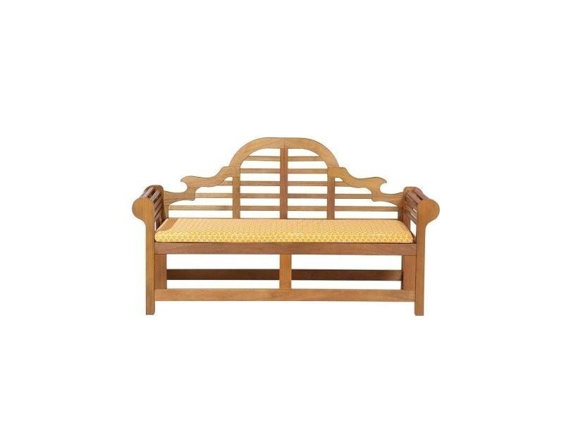 Coussin Assise Jaune Pour Banc De Jardin Marlboro 81844 Vente De