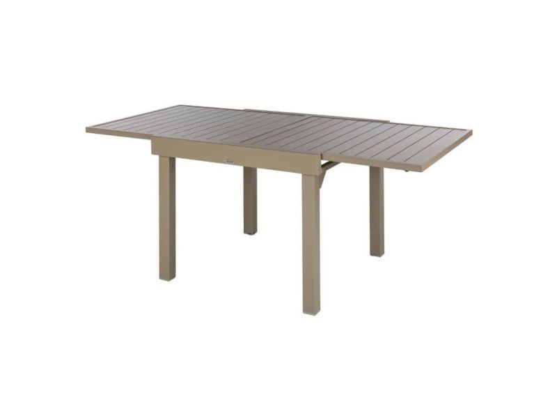 Hespéride Rectangulaire Extensible Personnes Table Piazza Taupe 8 nwOk0P