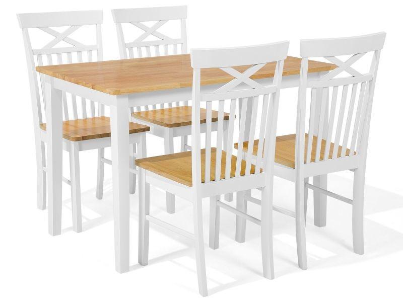 tables cuisine conforama ensemble de cuisine table et 4 chaises en bois 120 x 75 cm