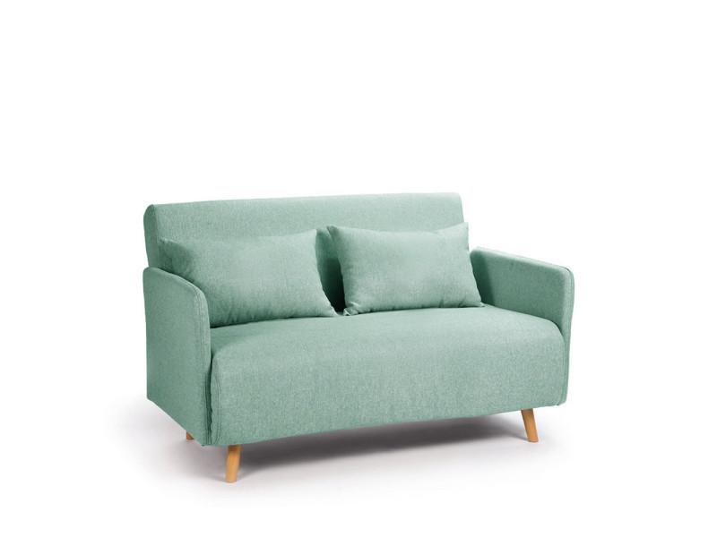 Pastel 2 Belushi Convertible Turquoise Canapé Couleur Places F1lJK3Tc