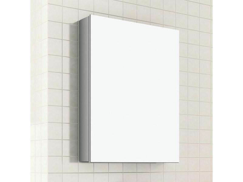 Armoire De Toilette 50 Cm 1 Porte Avec Miroir Turin