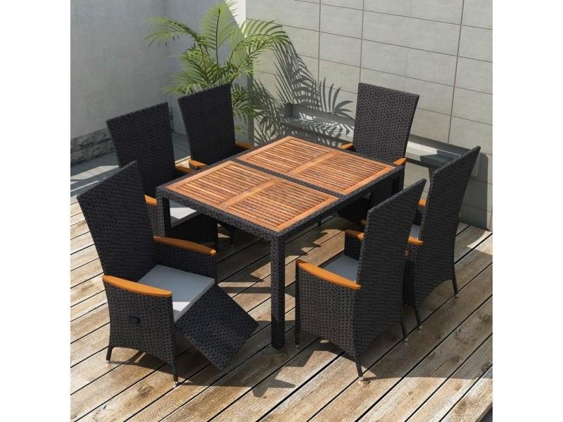 Meubles de jardin ligne lisbonne mobilier de jardin 13 pcs ...