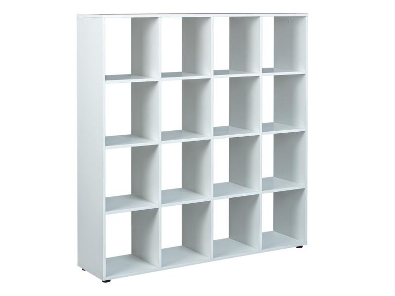 Etagere Bibliotheque Etagere De Separation Separateur 16 Compartiments Vente De Deladeco Conforama