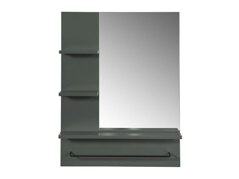 Miroir Avec Porte Serviettes Miroir Mural Miroir De Salle De
