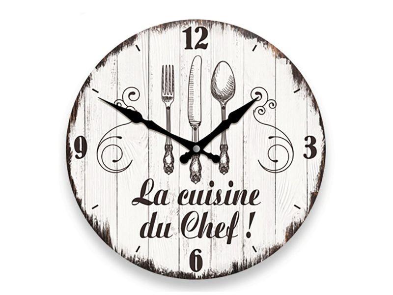 horloge murale cuisine conforama  asherpenn