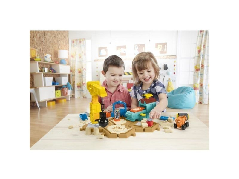Bob The Builder DMM55 Mash et moule construction site Playset New Fisher Price