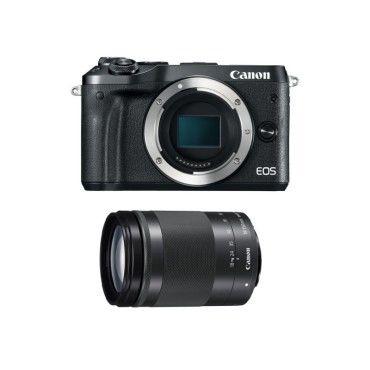 Canon eos m6 noir + 18-150 garanti 3 ans