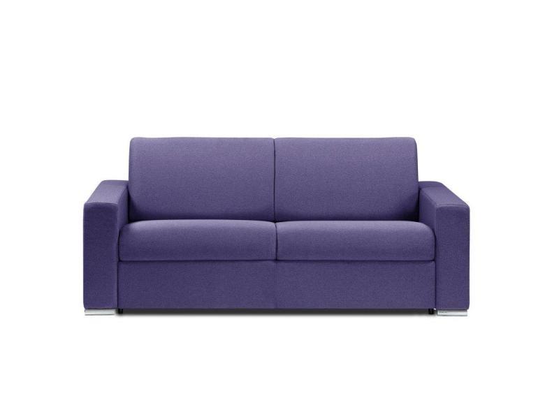Canapé lit 4 places dreamer convertible rapido 160*197*16cm neo violet lila 20100880715