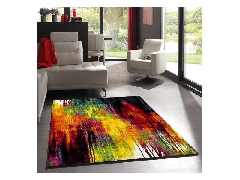 Tapis Salon Belo Multicolore 120 X 170 Cm Tapis De Salon Moderne