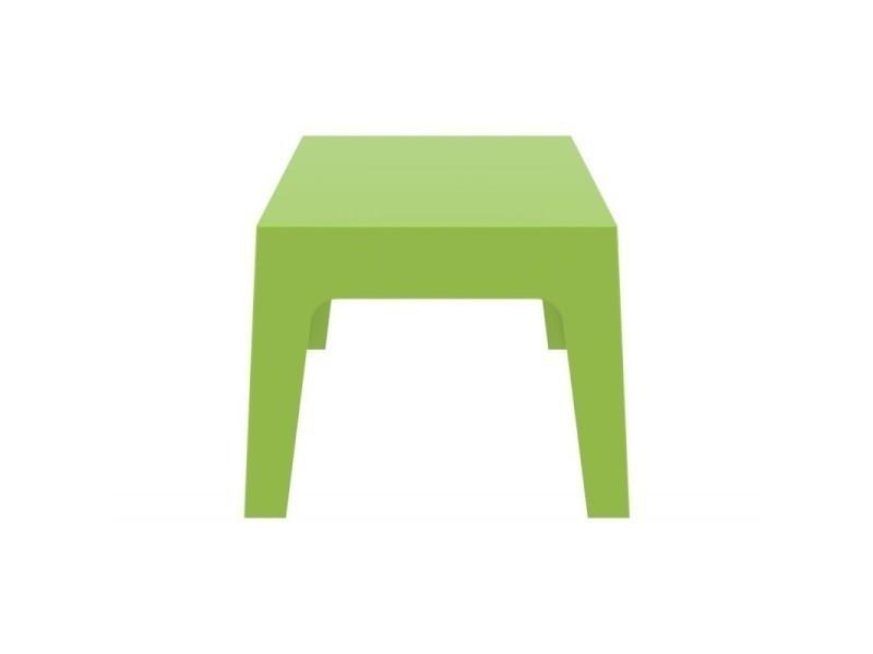 Table basse de jardin en plastique vert 50x70x43 cm mdj10169 - Vente ...