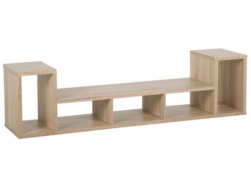 Meuble tv en bois clair cordoba 139389