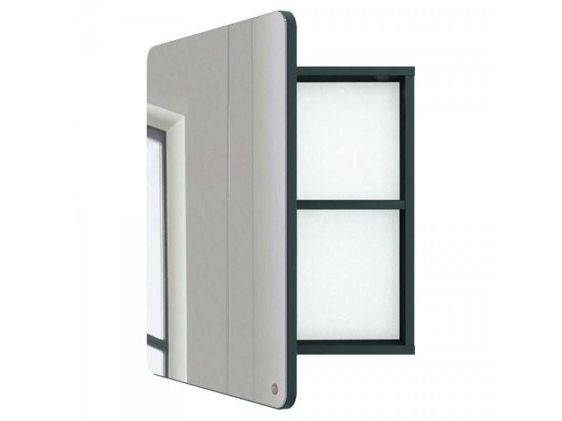 Miroir de salle de bain avec placard en bois atole 9004980031