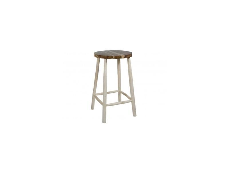 Table haute d\'extérieur bois flotté capri - Vente de Salon de ...