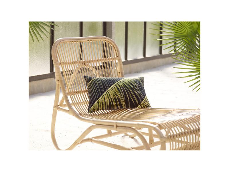 Kim - chaise longue en bambou - couleur - naturel 34007 ...
