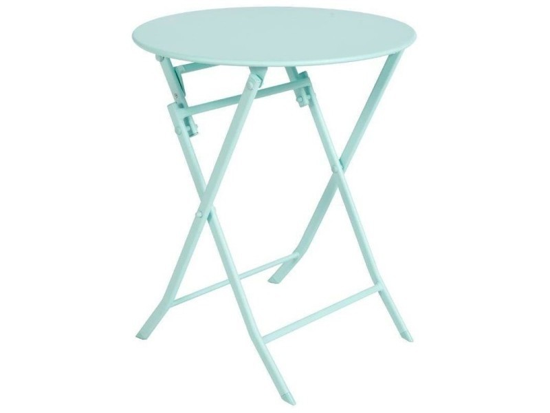 Table de jardin ronde hespéride 60cm greensboro mint - Vente ...