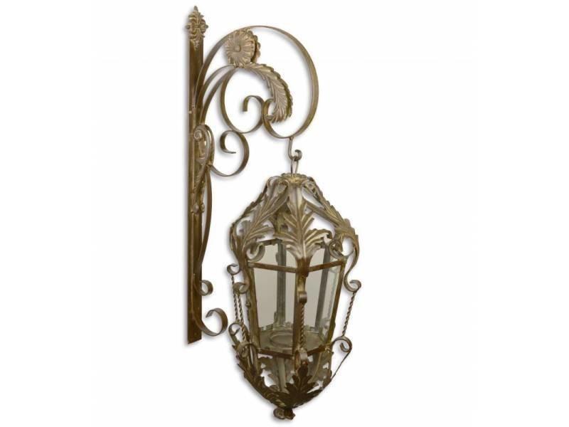 Grande lanterne applique murale extérieur ou intérieur luminaire