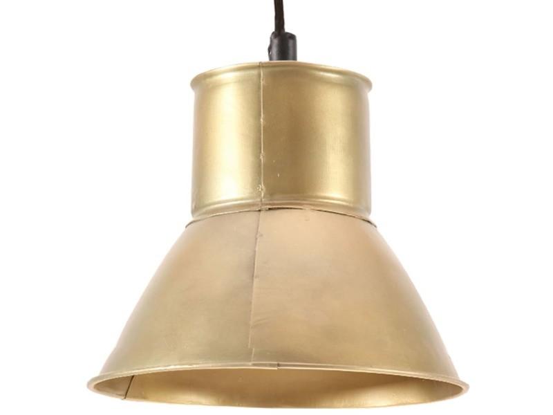 Vidaxl lampe suspendue 25 w laiton rond 17 cm e27 320572