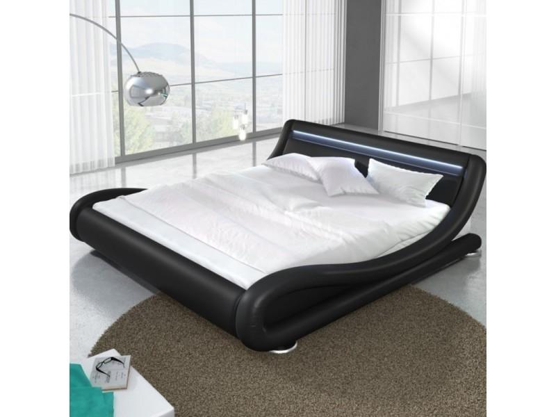 Lit design led julia - noir - 140x190