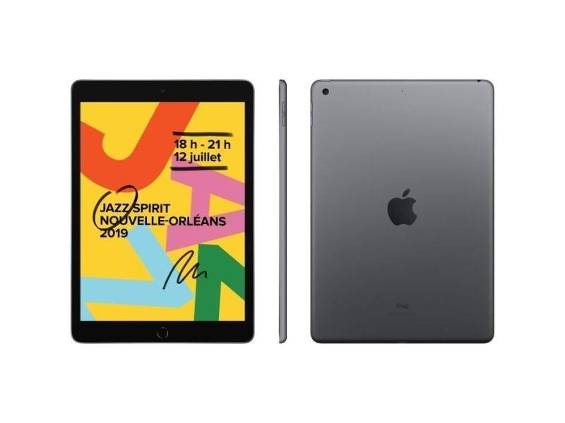Tablette tactile ipad 7 10,2\' retina 128go wifi - gris ...