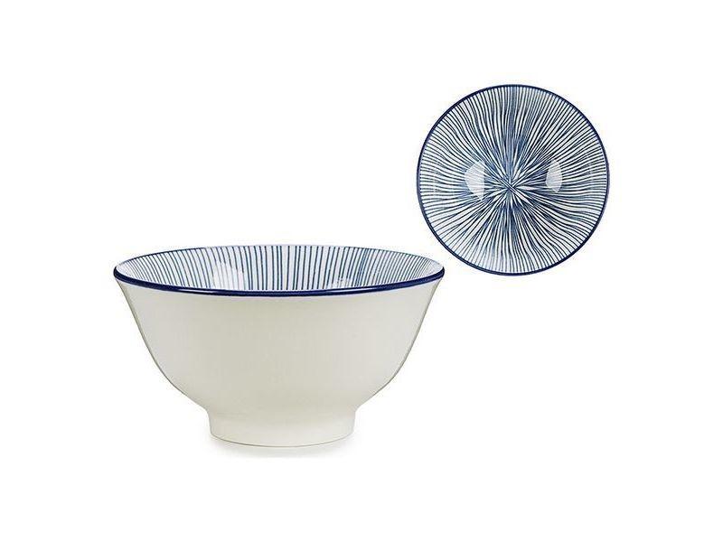 Assiettes, plats et plateaux distingué bol bleu porcelaine ø 16 cm