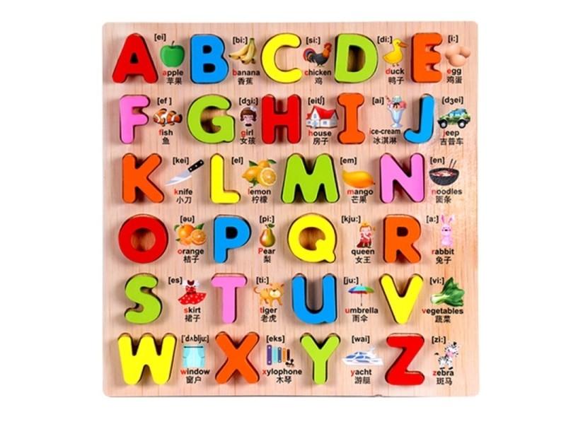 Jeu Puzzles Jigsaw En Enfants Éducatifs Bébé Bois Jouets D