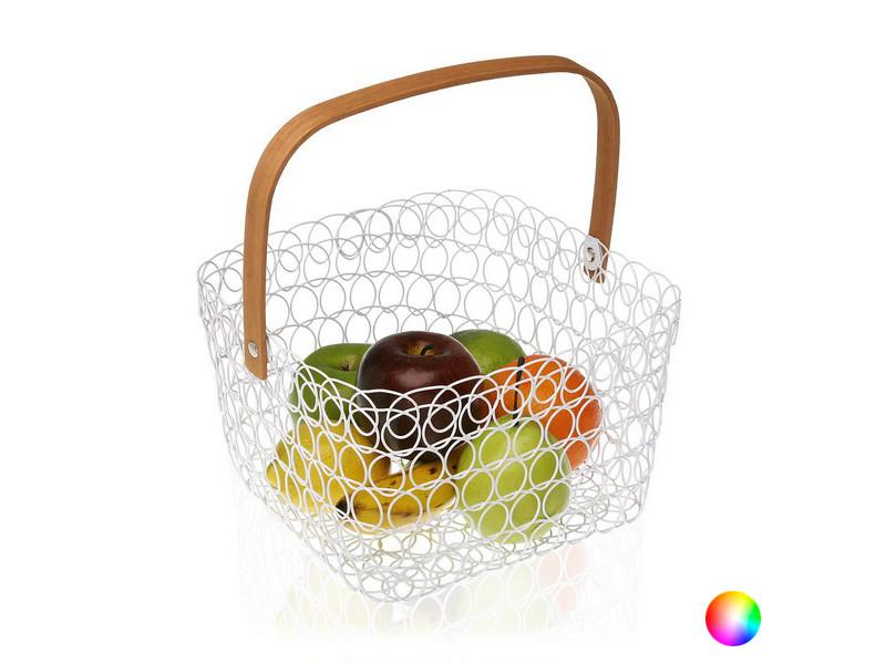 Autres accessoires et ustensiles de cuisine inedit couleur gris coupe à fruits métal (25 x 30 x 25 cm)