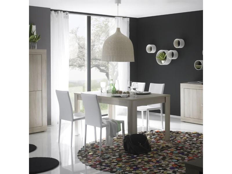 Table de repas rectangulaire 160 cm - rubben - l 160 x l 90 x h 79 - neuf