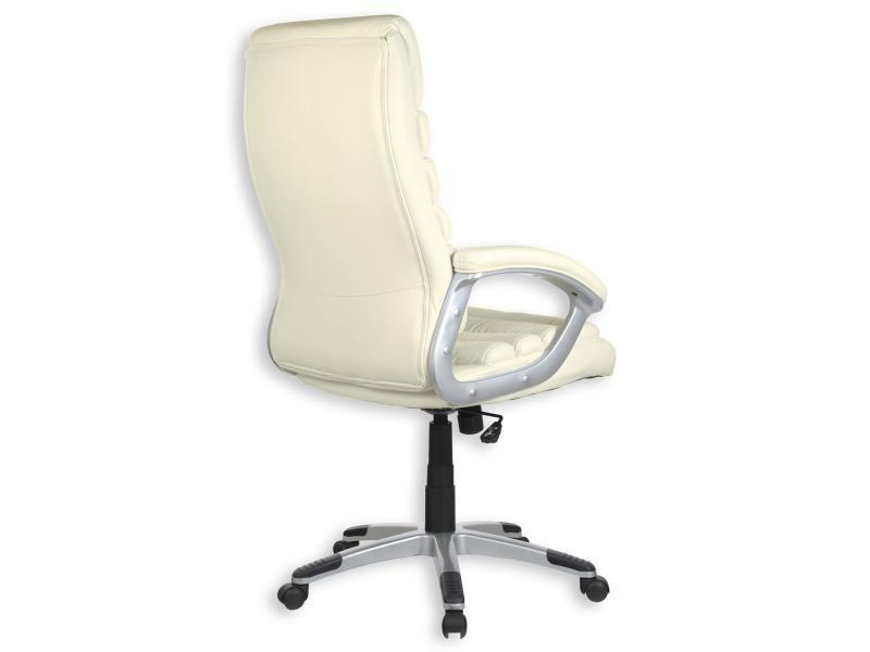 Fauteuil de bureau blanc avec accoudoirs vente de fauteuil de