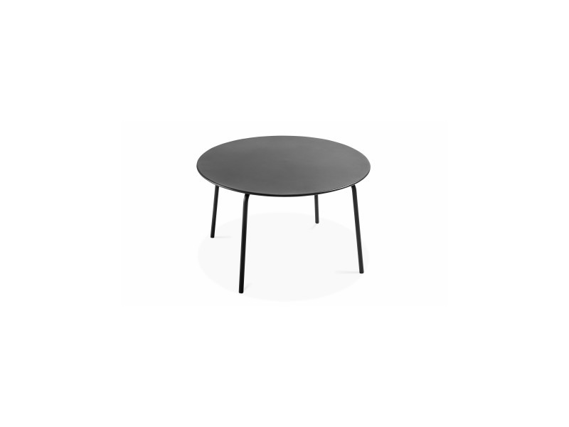 Table de jardin ronde en métal, palavas - Vente de Table - Conforama