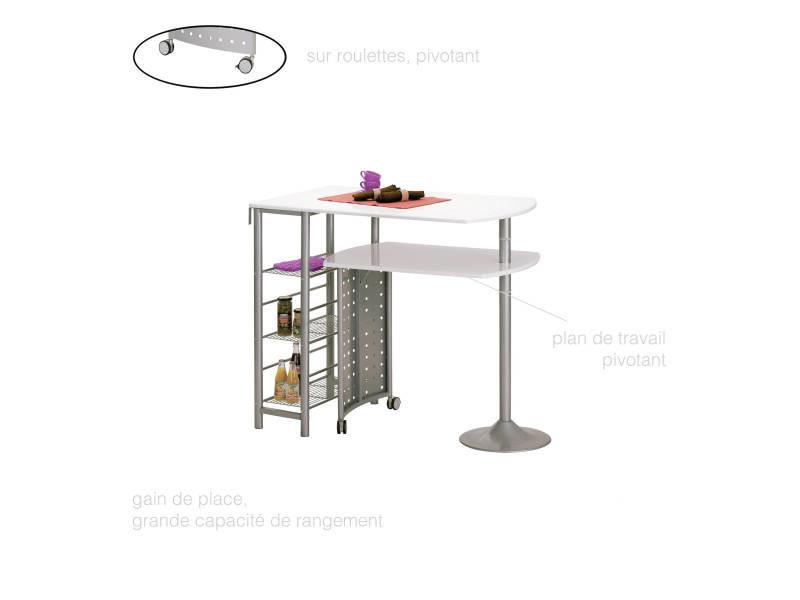 Table Bar Cuisine Rangements Et étagères Plan De Travail