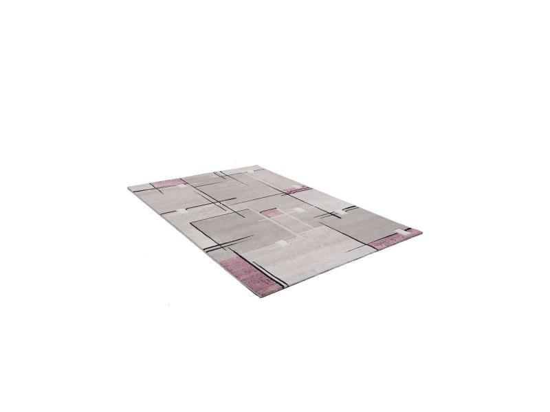 Tapis salon nova violet 120 x 170 cm tapis de salon moderne ...