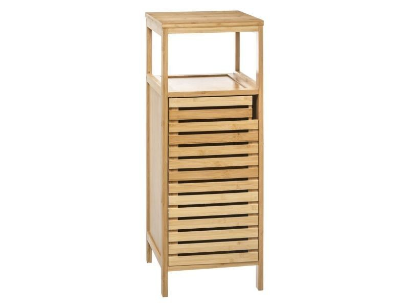 Etagère salle de bain bambou sicela - 30 x h. 78,5 cm - marron ...