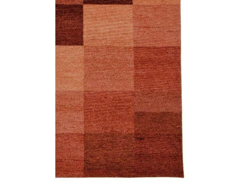 Tapis chambre baku box marron 70 x 140 cm tapis de salon ...