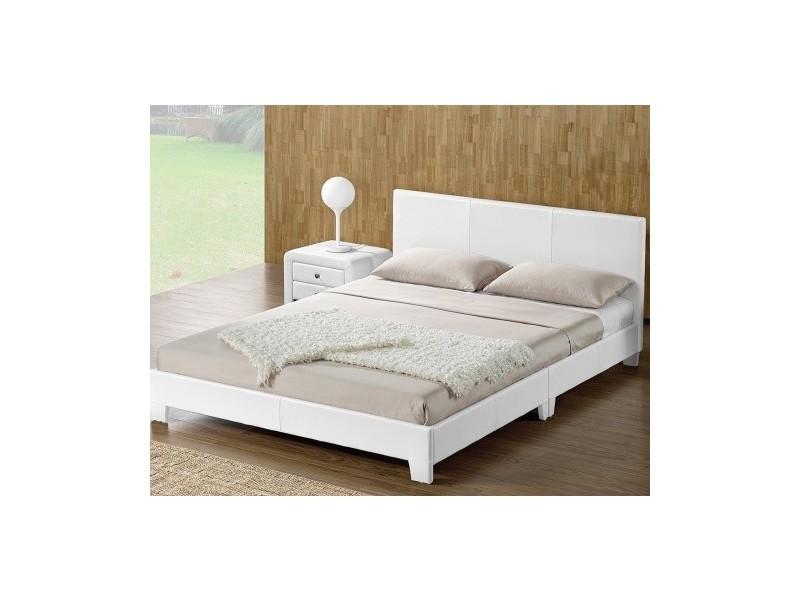 lit adulte complet t te de lit cadre de lit simpli. Black Bedroom Furniture Sets. Home Design Ideas