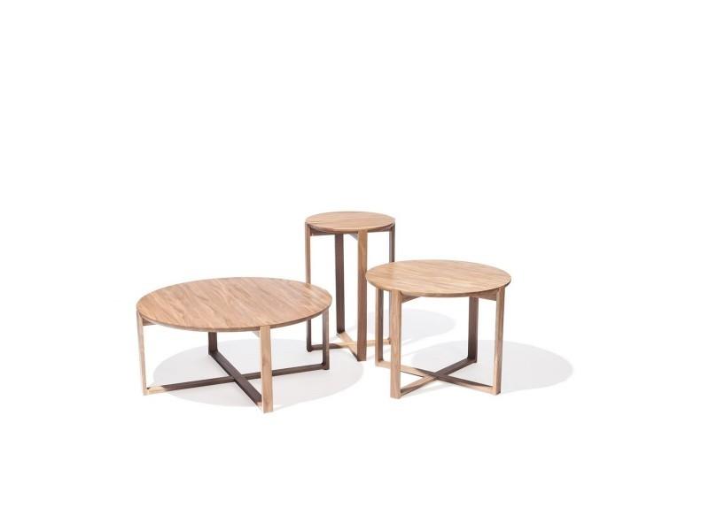 Table basse ronde delta coffee vente de table basse - Table basse ronde conforama ...