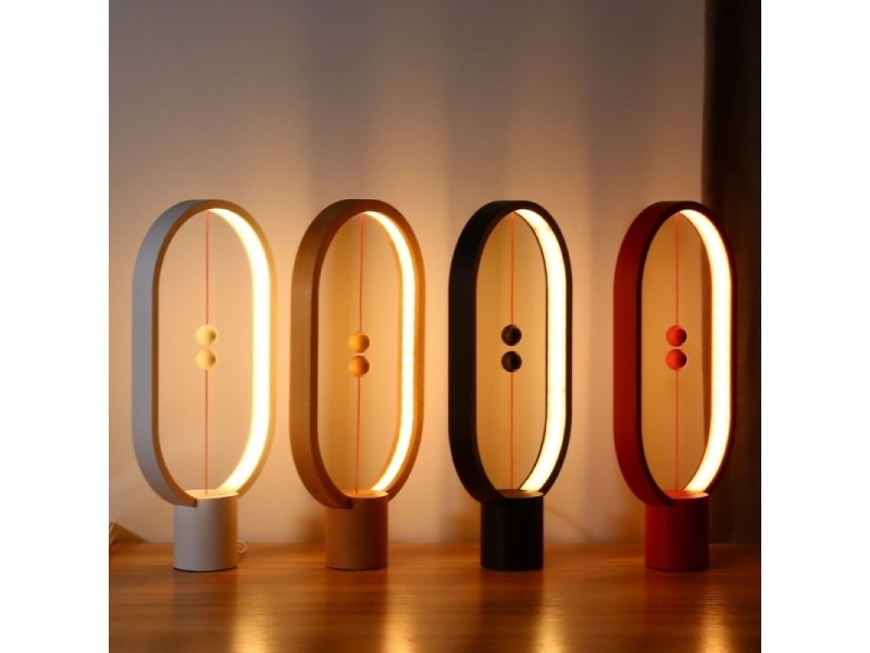 Balance Lampe Led Veilleuse Usb Alimente Chambre Bureau Table De