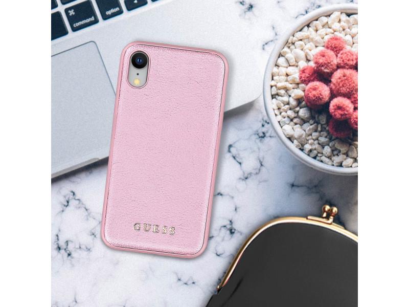 coque iphone xr rigide rose