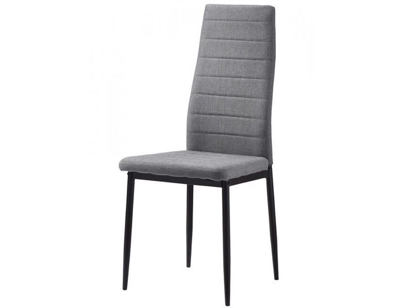 à Vente gris Chaise tissu Chaise anna de salle manger de m0OyN8nvw