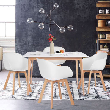 Table rectangulaire Conforama