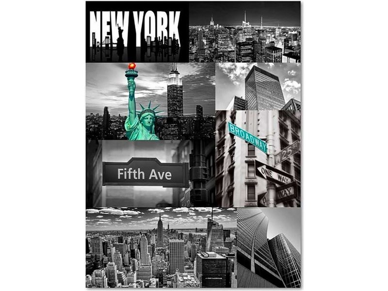 Tableau New York Can 1 Tyk M 30750 50x70 Vente De Recollection Conforama