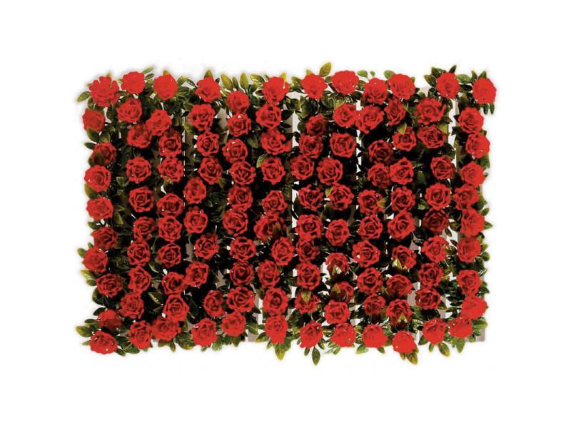 Boite de 12 barrettes roses rouges - l2g - 250