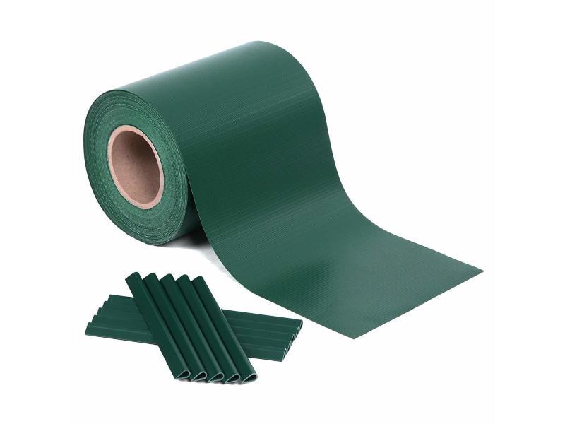 Rouleau de brise-vue paravent couverture de clôture vert en ...